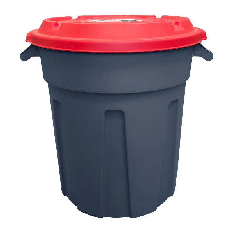 Пластиковый бак для мусора универсальный 80 литров