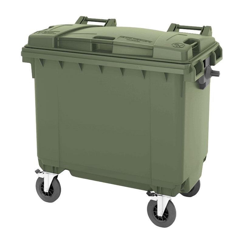 Пластиковый контейнер для мусора 770 литров