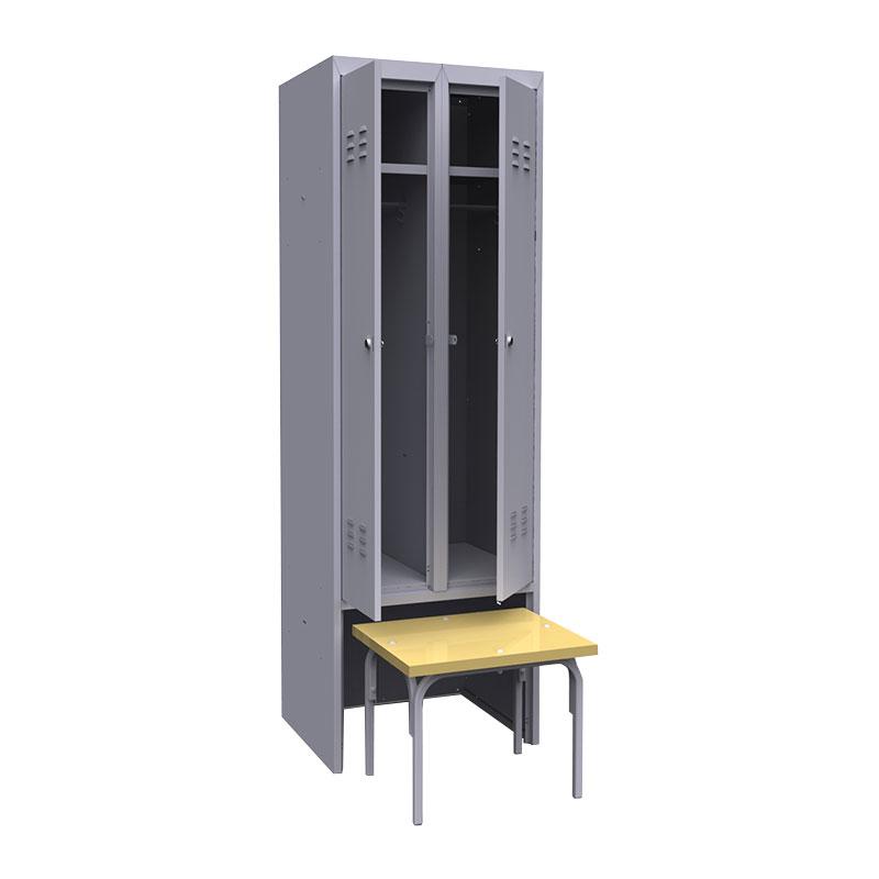 Шкаф для раздевалок ШР-22 L600 ВСК