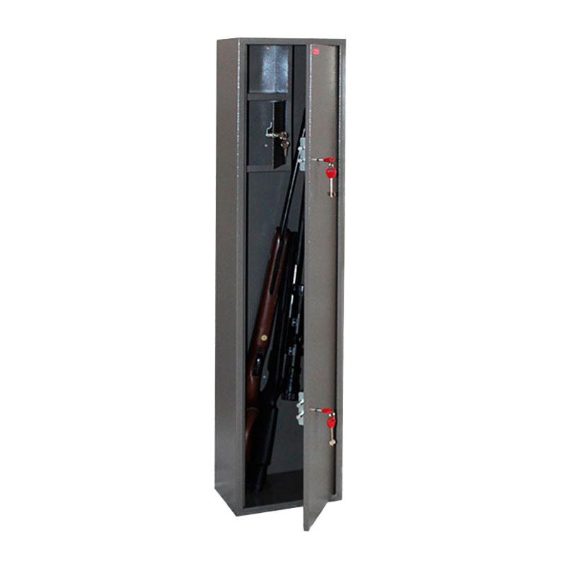 Шкаф для хранения оружия «Д-6» ключевой сейфовый замок