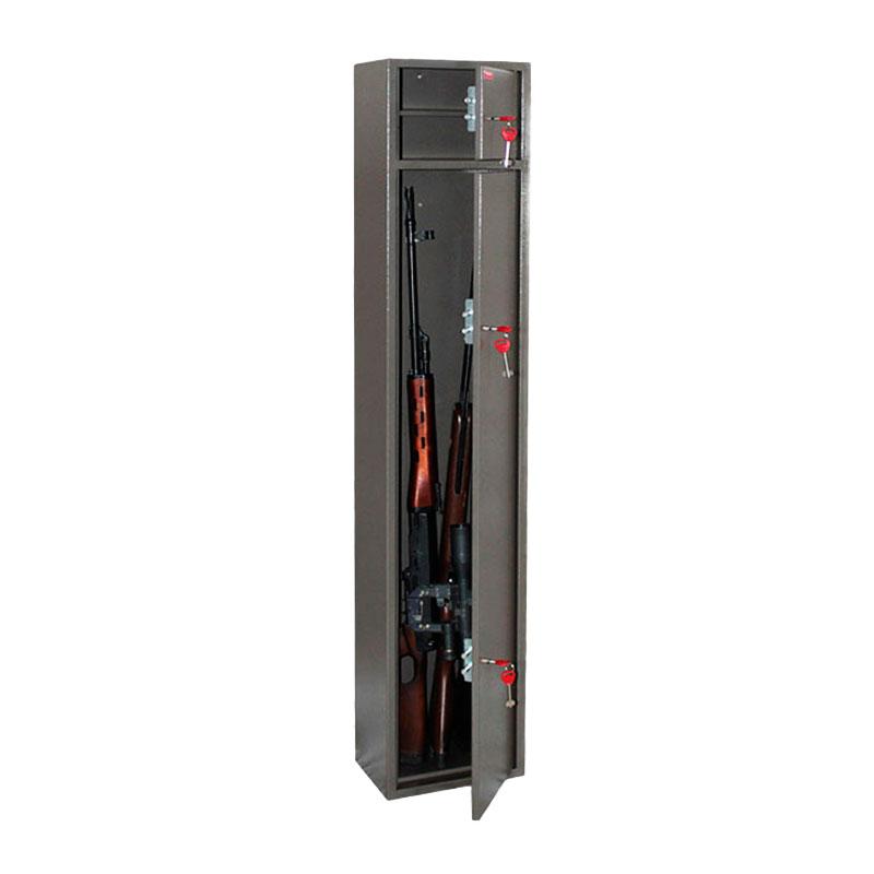 Шкаф для хранения оружия «Д-7» ключевой сейфовый замок
