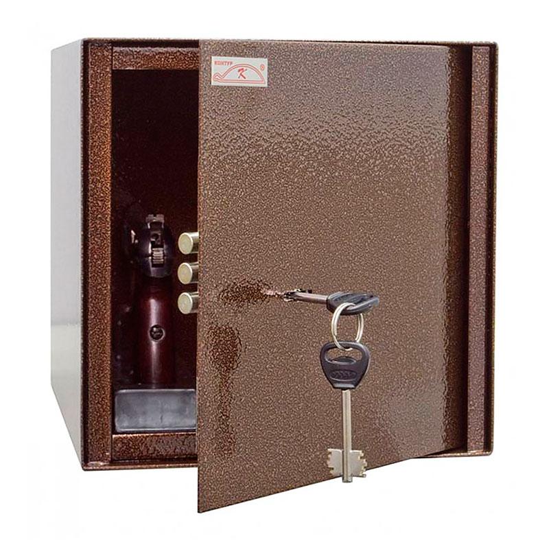 Пистолетный сейф «ШП-1» ключевой сейфовый замок