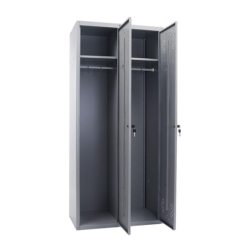 Шкаф для раздевалок ПРАКТИК Стандарт LS 21-80