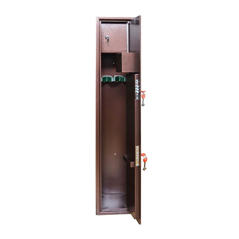Шкаф для хранения оружия «О-1» ключевой сейфовый замок