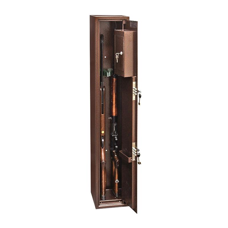 Шкаф для хранения оружия «С-22» ключевой сейфовый замок