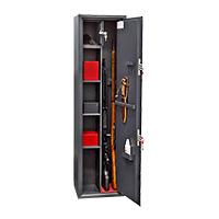 Шкаф для хранения оружия «ОК-370т» ключевой сейфовый замок