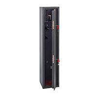 Шкаф для хранения оружия «ОК-350т» ключевой сейфовый замок