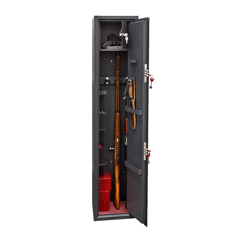 Шкаф для хранения оружия «ОК-300т» ключевой сейфовый замок