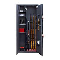 Шкаф для хранения оружия «ОК-10т» ключевой сейфовый замок
