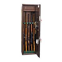 Шкаф для хранения оружия «КО-039т» ключевой сейфовый замок