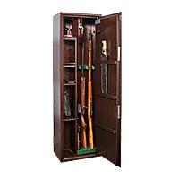 Шкаф для хранения оружия «КО-038т» ключевой сейфовый замок