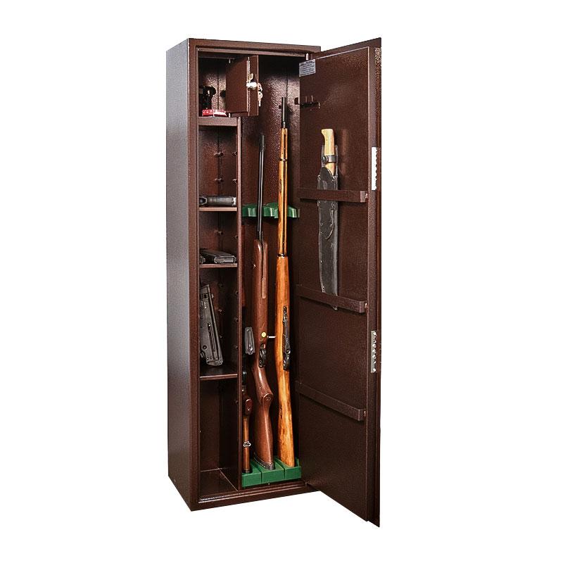 Шкаф для хранения оружия «КО-038те» электронный кодовый замок