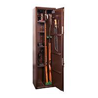 Шкаф для хранения оружия «КО-037т» ключевой сейфовый замок