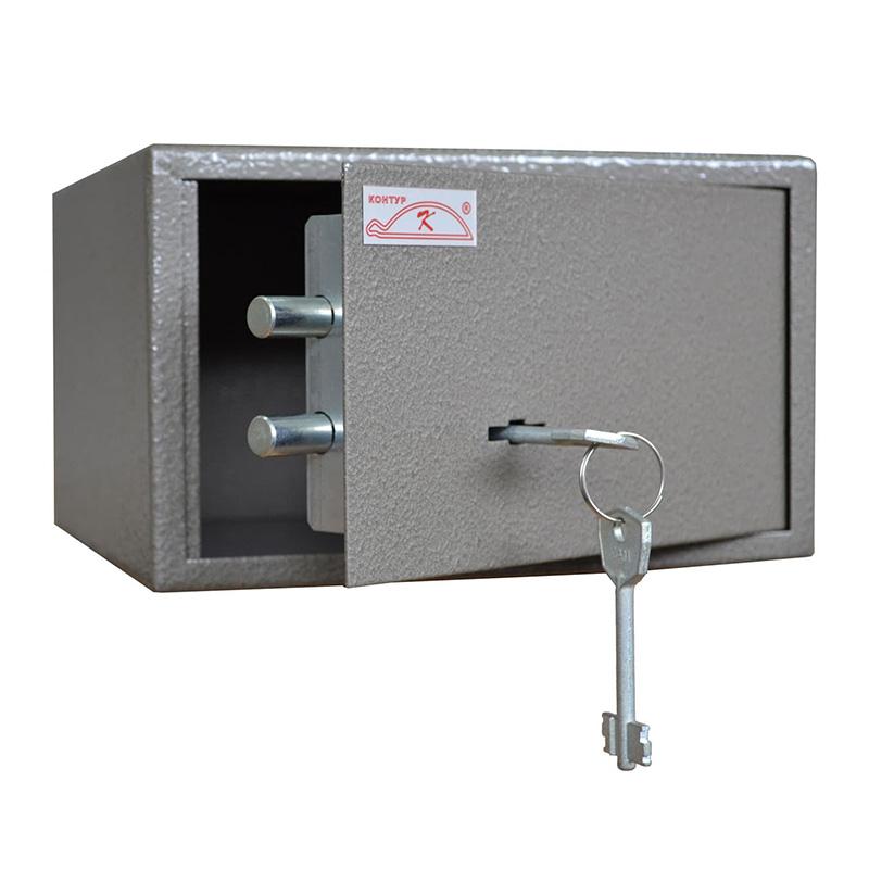 Пистолетный сейф «БП-1» ключевой сейфовый замок
