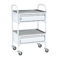 Медицинский манипуляционный стол c 2 ящиками